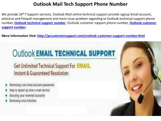 Outlook Customer Care Technical Support Phone Number