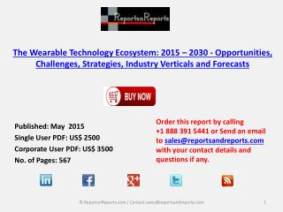 2030 Ecosystem Wearable Technology Market Research Report