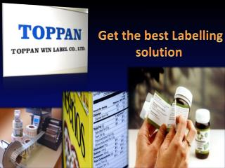 Get the best Labelling solution.