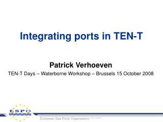 Integrating ports in TEN-T