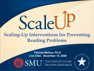 Scaling-Up Interventions for Preventing Reading Problems