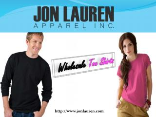 Wholesale  Tee Shirts  At Jonlauren Apparel Inc