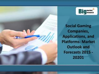 Key Analysis Of Social Gaming Market-2020