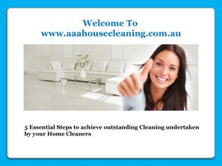 Home cleaning Services in Melbourne