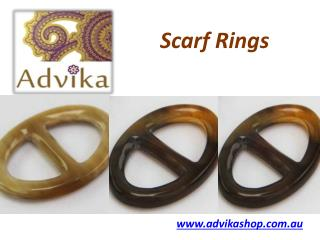 Best Scarf Rings in Australia