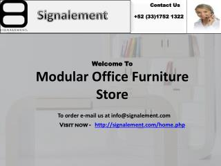 Modular Office Furniture store - Signalement