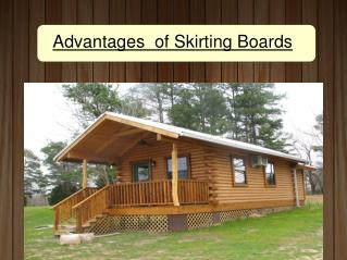 Advantages of Skirting Boards