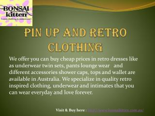 #Retro Clothing