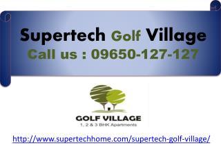 Supertech Golf Village luxurious flats