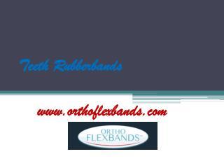 Teeth Rubberbands - www.orthoflexbands.com