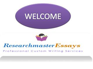 Best Term Paper, College Essay and Research Proposal Writing