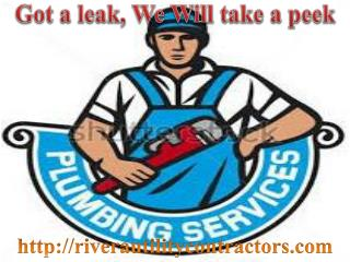 Utilities Contractor, Commercial Plumbing, Water Heater and