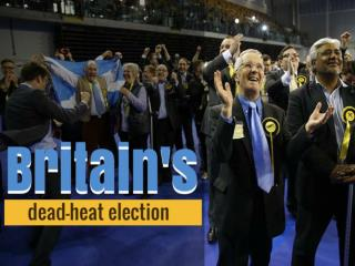 Britain's dead-heat election