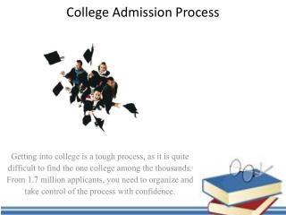 College admission process - College Kickstart