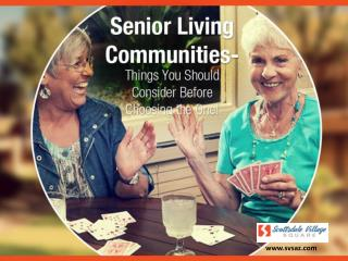 Senior Living Scottsdale Caring and Compassionate Caregivers