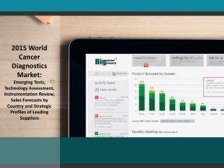 2015 World Cancer Diagnostics Market: Emerging Tests, Techno