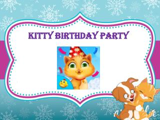 Kitty Birthday Party - Android Kids Games