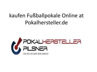 kaufen Fußballpokale Online at Pokalhersteller.de