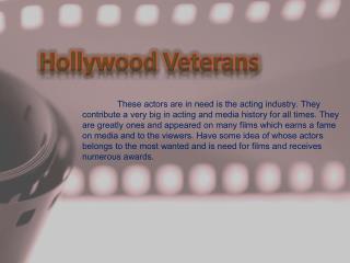 Hollywood Veterans