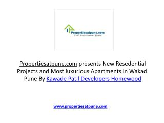 Homewood Wakad Pune By Kawade Patil developers