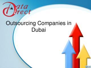 Outsourcing Companies in Dubai- Data direct