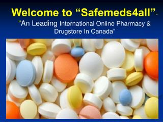 Leading International Online Pharmacy and Drugstore