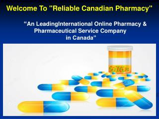 International Online Pharmacy & Drugstore in Canada