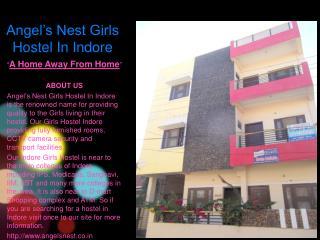 Angel's Nest Girls Hostel Indore