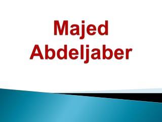 Majed Abdeljaber - A Philanthropist