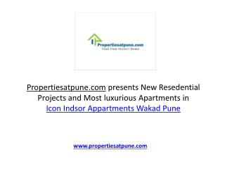 Icon Windsor Apartments Wakad Pune By Icon Group