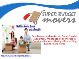 Best movers in Abu Dhabi