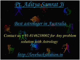 Best Astrologer in Australia