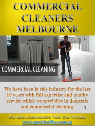 Bond Back Cleaning Melbourne