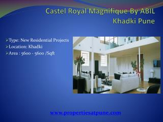 Castel Royal Grande By ABIL At Khadki Pune