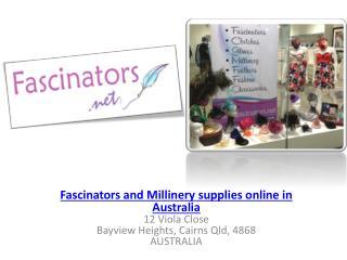Fascinators and Millinery supplies Online - Fascinators.net