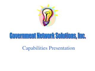 Government Network Solutions, Inc.