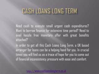 http://www.cashloanslongterm.co.uk #Cash Loans Long Term