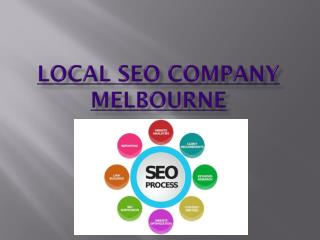 Local Seo company Melbourne