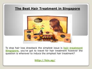 Hair treatment in singapore