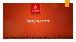 Ooty Resort