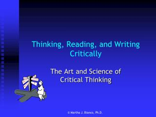 Thinking, Reading, and Writing Critically
