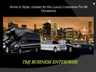Hummer Limousine | Limo Hire London - TMJ Business
