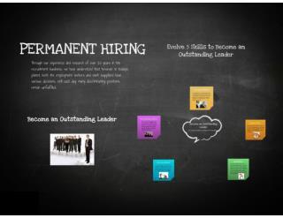 Permanent Hiring Tips- Evolve 5 skills for Leader
