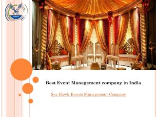 Wedding Event Management Company