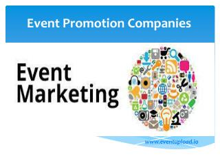 Event Promotion Companies