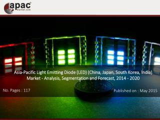 Market Research Report, Light Emitting Diode in Asia Pacific