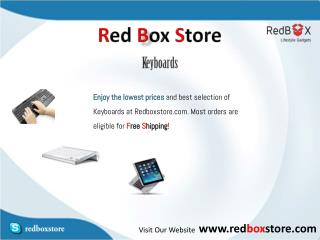 Keyboard - Red Box Store