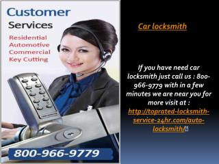 Car locksmith | Auot locksmith