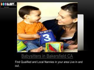 Babysitters in Bakersfield ca