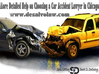 More Detailed Help on Choosing a Car Accident Lawyer in Chic